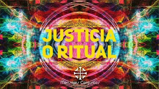 Justicia o Ritual