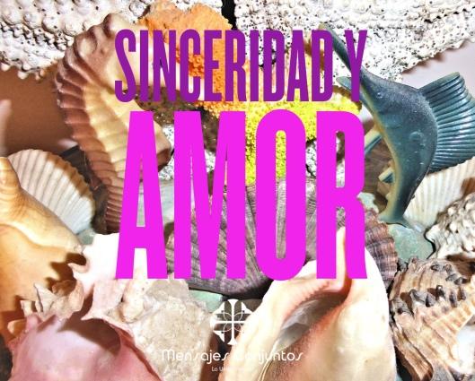 Sinceridad y Amor 1