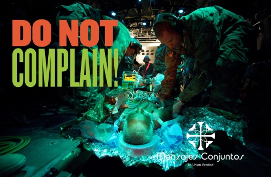 Do Not Complain