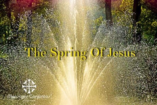 The Spring of Jesus
